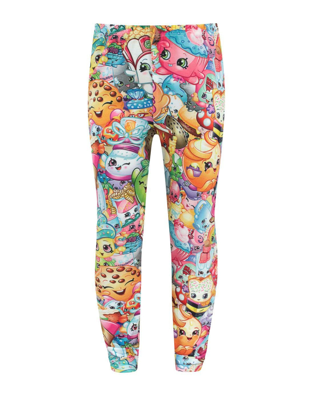 Shopkins Collage Girl's Leggings