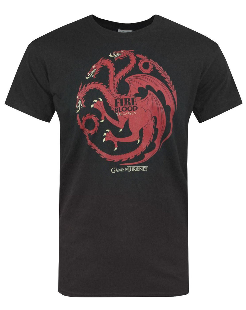 Game Of Thrones Fire And Blood Men's T-Shirt