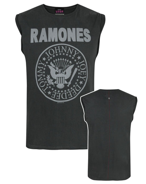 Amplified Ramones Seal Logo Men's Vest