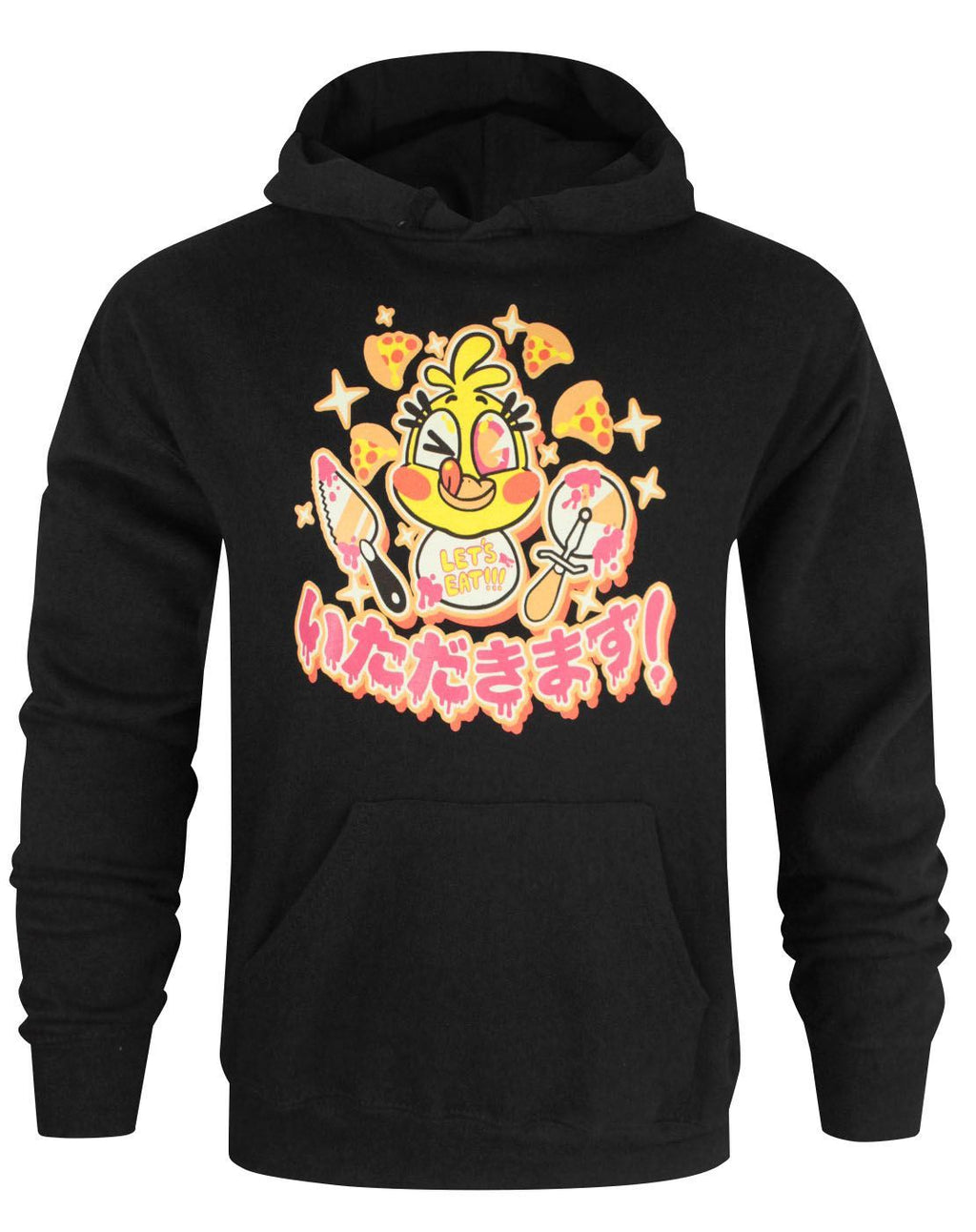 Five Nights At Freddy's Chica Chicadakimasu Men's Hoodie