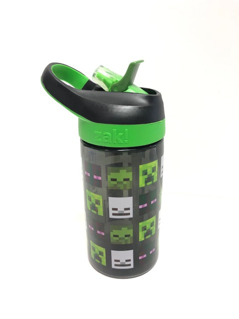 Minecraft Creeper Zombie Steve and Skeleton 16oz/473ml Reusable Sports Bottle