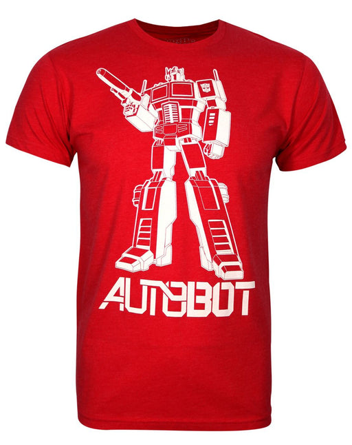 Goodie Two Sleeves Transformers Prime Men's T-Shirt