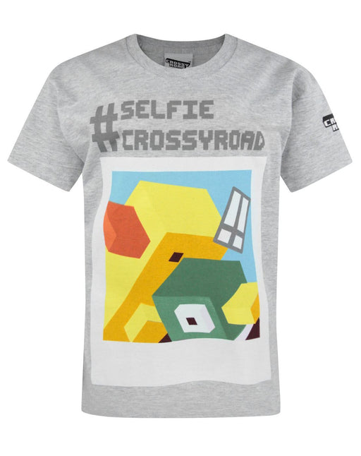Crossy Road Selfie Boy's T-Shirt