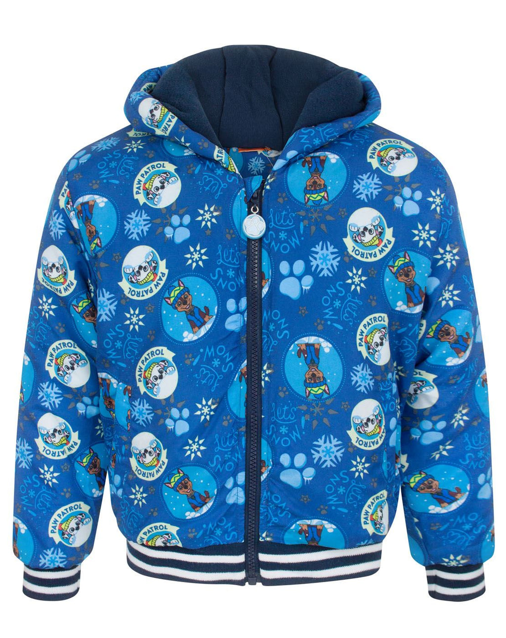 Paw Patrol Lets Snow Boy's Blue Coat