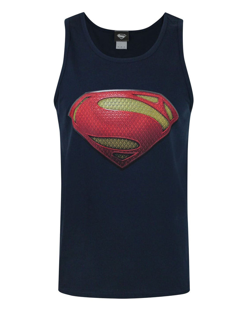 Man Of Steel Logo Men's Vest