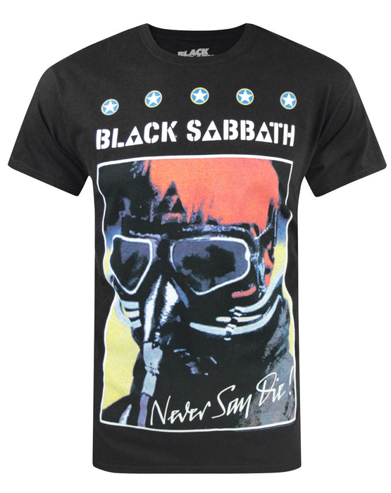 465ad3240 Black Sabbath Never Say Die Men's T-Shirt — Vanilla Underground