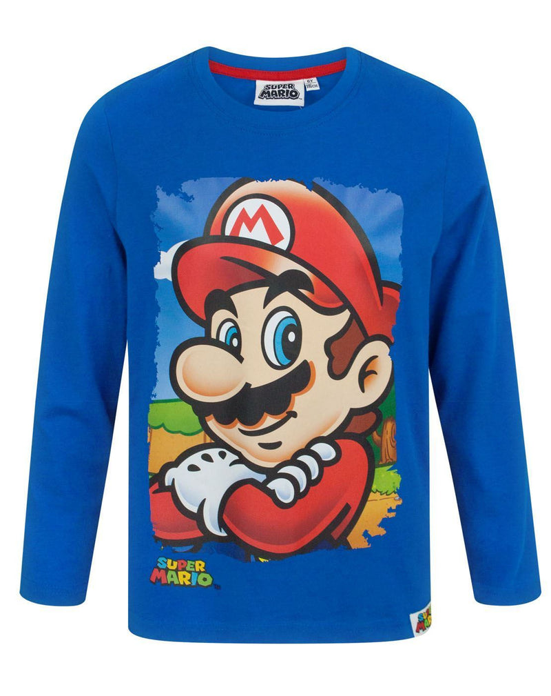 Super Mario Boy's Long Sleeve T-Shirt
