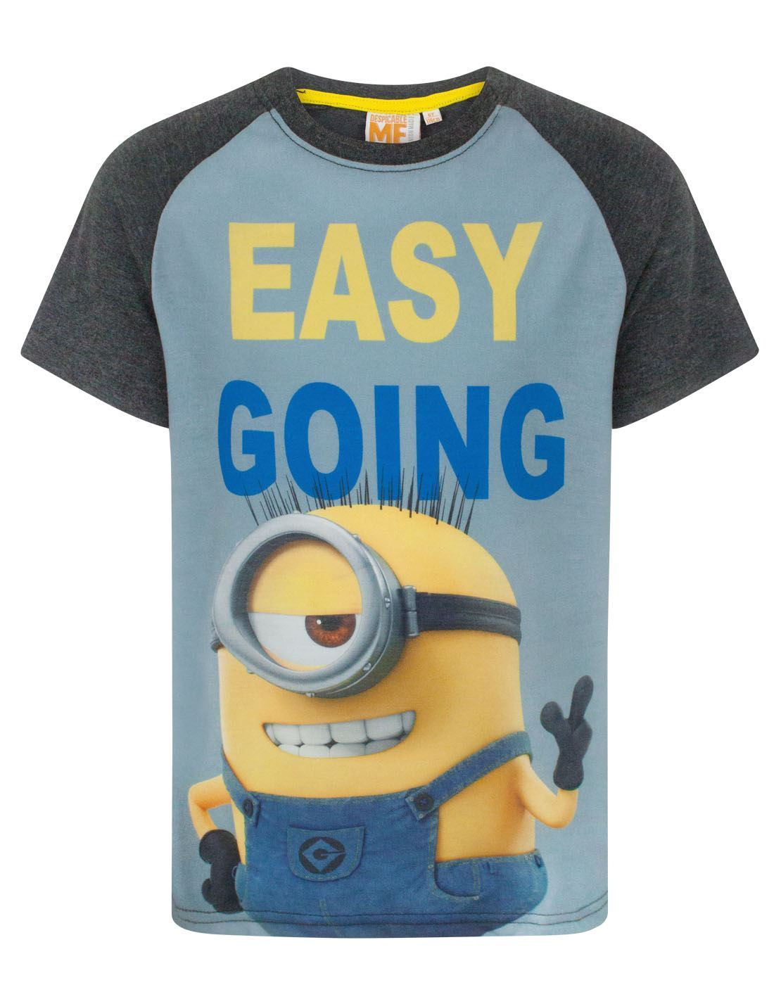 5d4f9cacda Despicable Me Easy Going Minion Boy s T-Shirt – Vanilla Underground