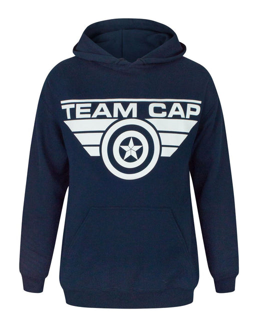 Captain America Civil War Team Cap Women's Hoodie