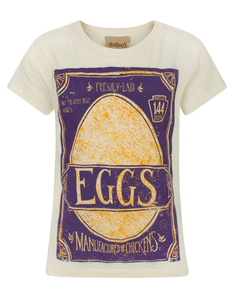 Boxtrolls Eggs Girl's T-Shirt