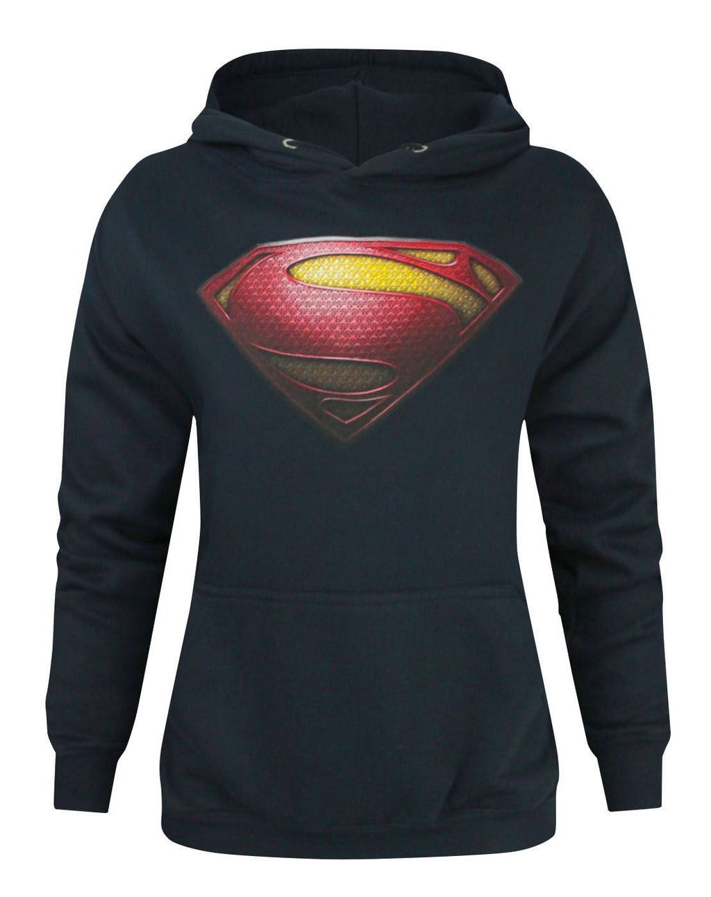 Superman Man Of Steel Logo Women's Hoodie