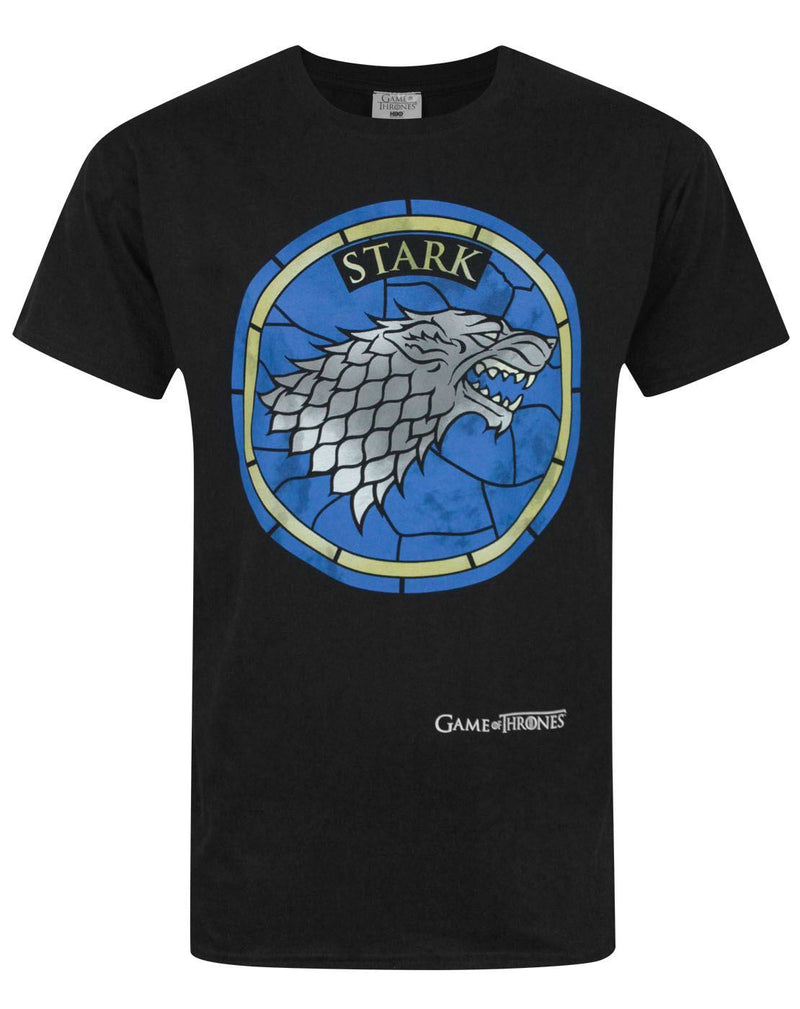 Game Of Thrones Stained Glass Stark Men's T-Shirt