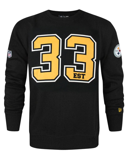 New Era NFL Pittsburgh Steelers Team Number Men's Sweater