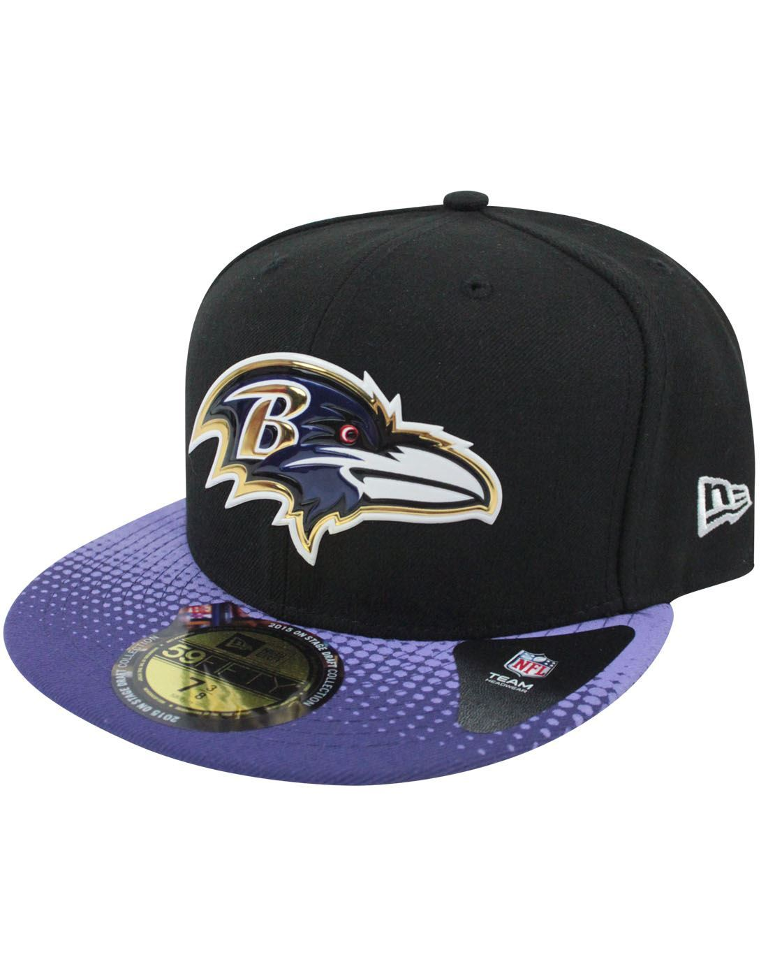 New Era 59Fifty NFL Baltimore Ravens Draft Cap – Vanilla Underground 7ce6b8065
