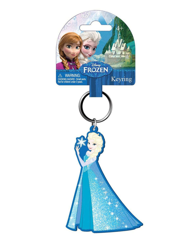 Disney Frozen Snow Queen Elsa Soft Touch Keychain