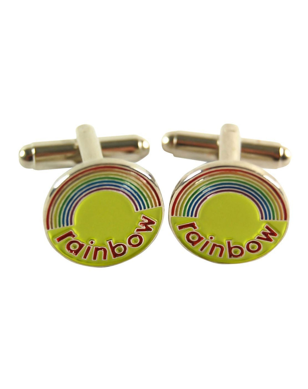 Rainbow Logo Cufflinks