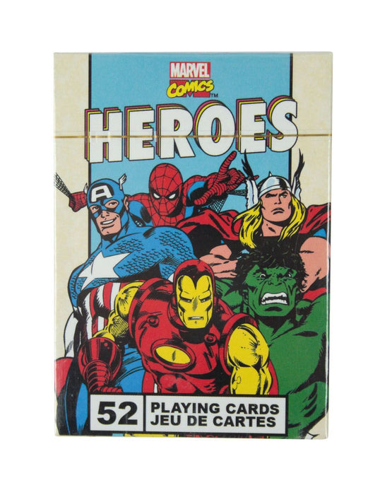 Marvel Comics Heroes Retro Playing Cards