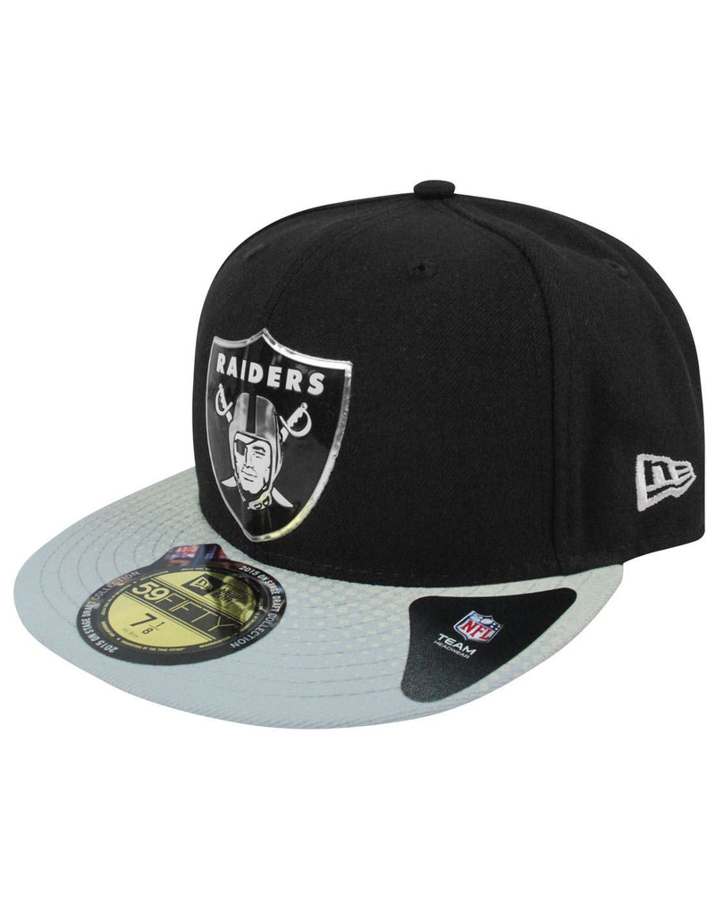New Era 59Fifty NFL Oakland Raiders Draft Cap – Vanilla Underground a8d7663d86a0