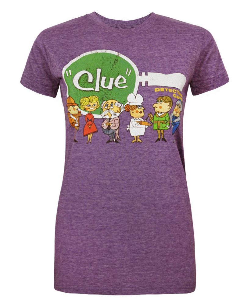 Goodie Two Sleeves Cluedo Line-Up Women's T-Shirt