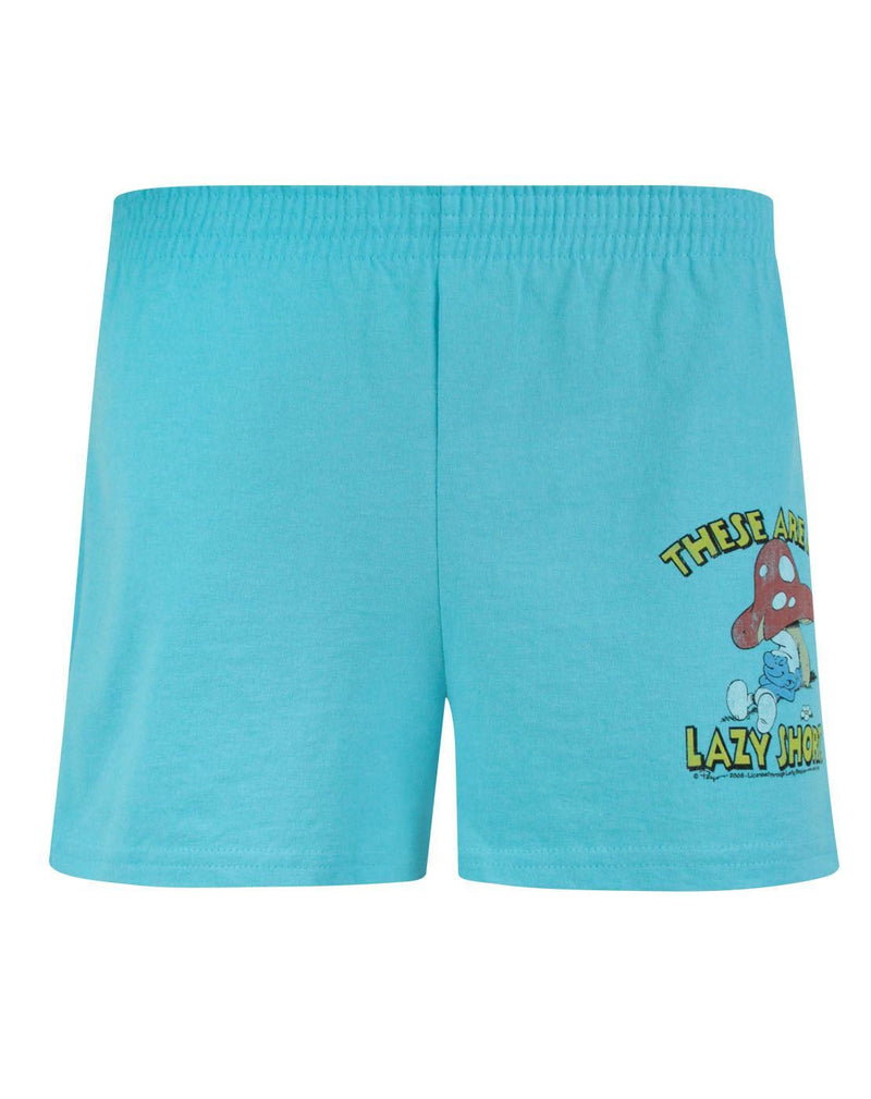 Junk Food Smurfs Lazy Women's Shorts