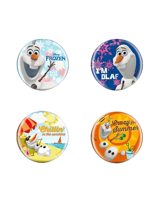 Disney Frozen Button Pin Badge Set B