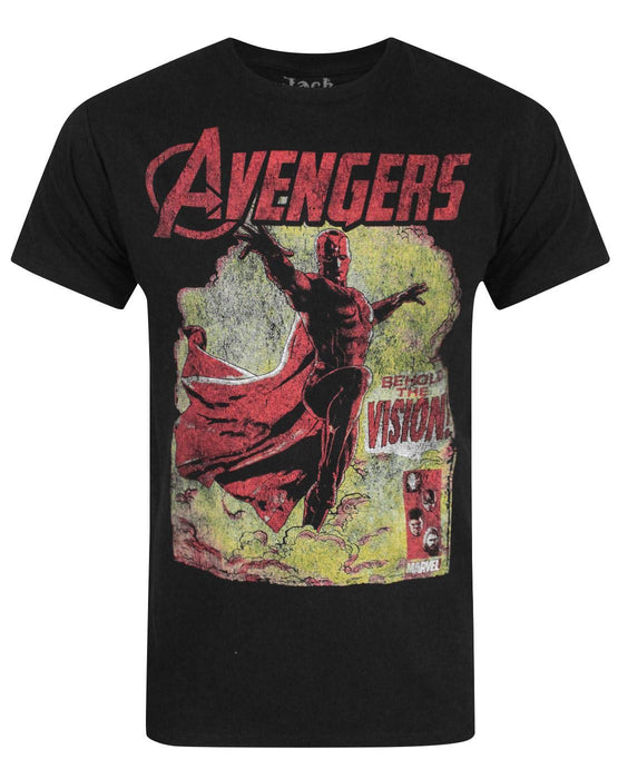 Jack Of All Trades Avengers Vision Men's T-Shirt