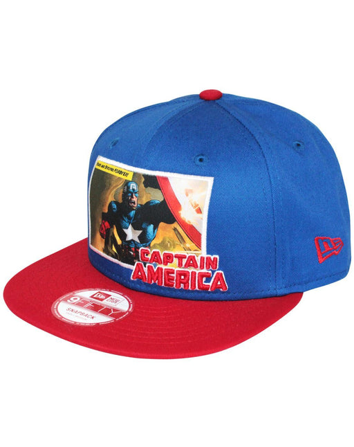 huge selection of 875f9 793bd New Era 9Fifty Comic Panel Captain America Snapback Cap