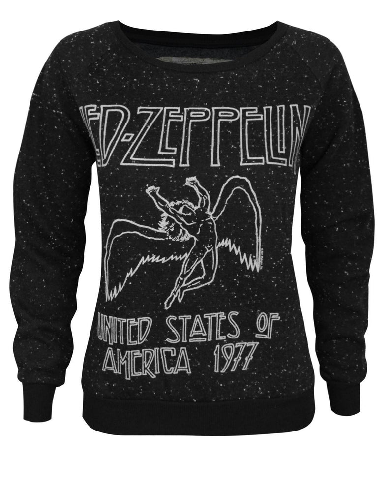 Amplified Led Zeppelin USA 1977 Women's Sweater