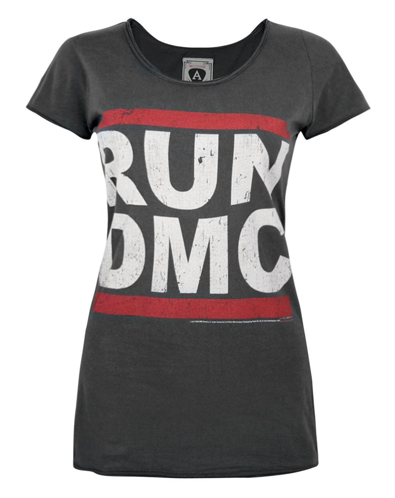 Amplified Run DMC Logo Women's T-Shirt