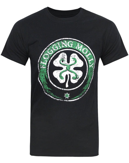 Flogging Molly Shamrock Men's T-Shirt