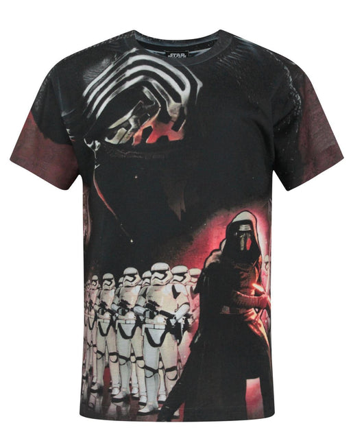 Star Wars Force Awakens Kylo Ren Sublimation Boy's T-Shirt