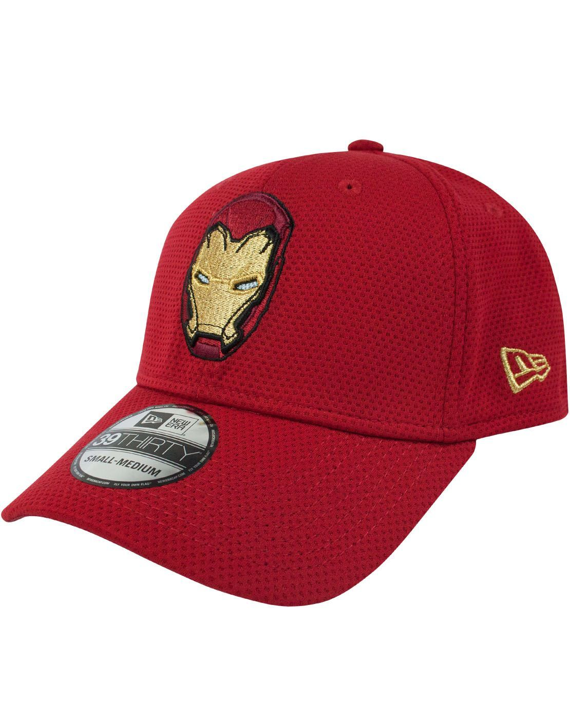 83d08b030b4 New Era 39Thirty Iron Man Logotallic Cap – Vanilla Underground