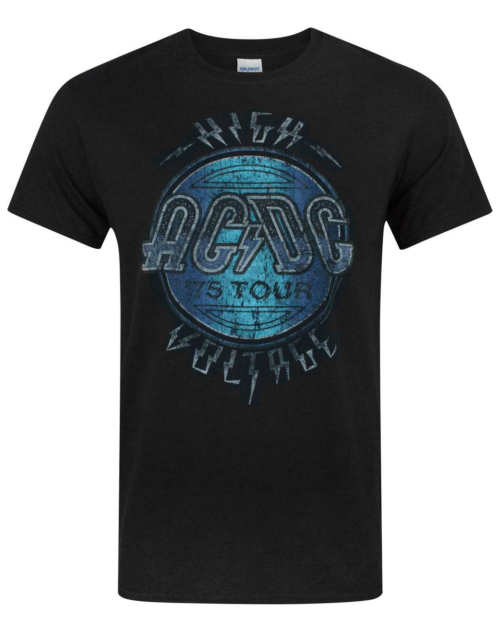 AC/DC 75' High Voltage Tour Men's T-Shirt
