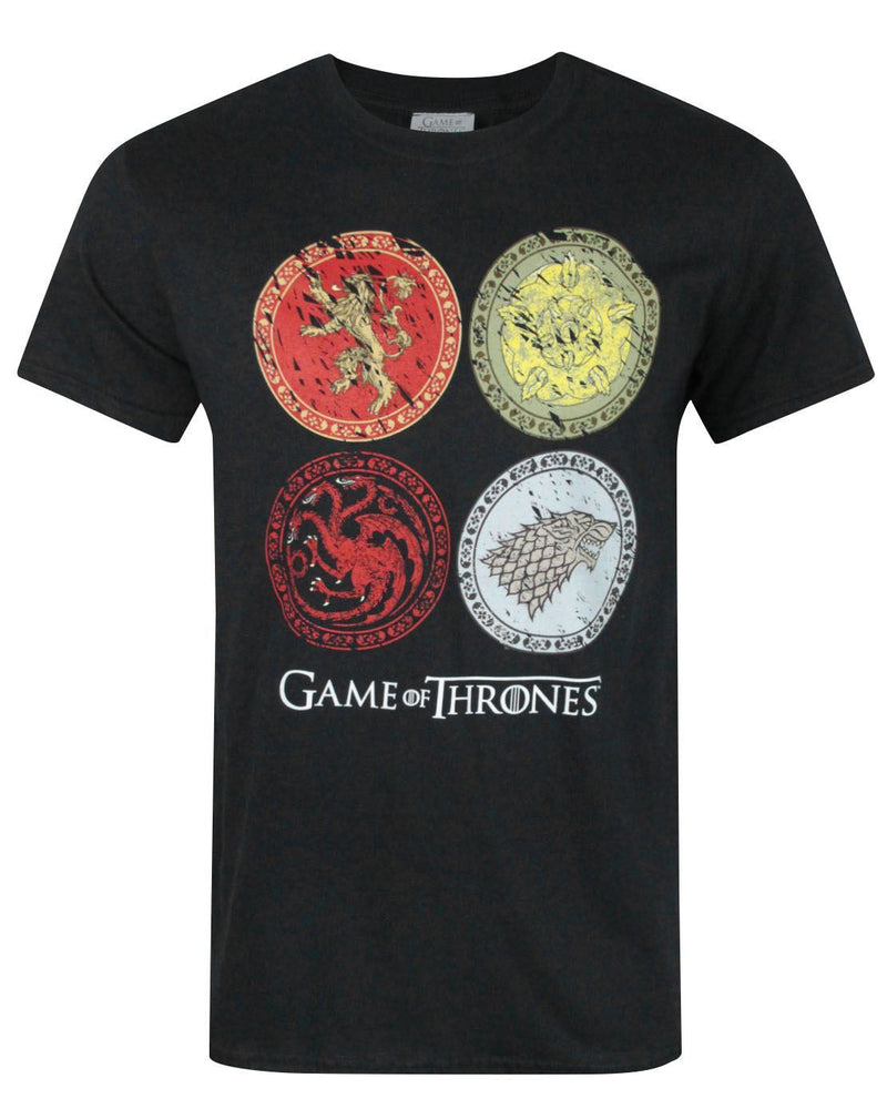 Game Of Thrones House Crests Men's T-Shirt