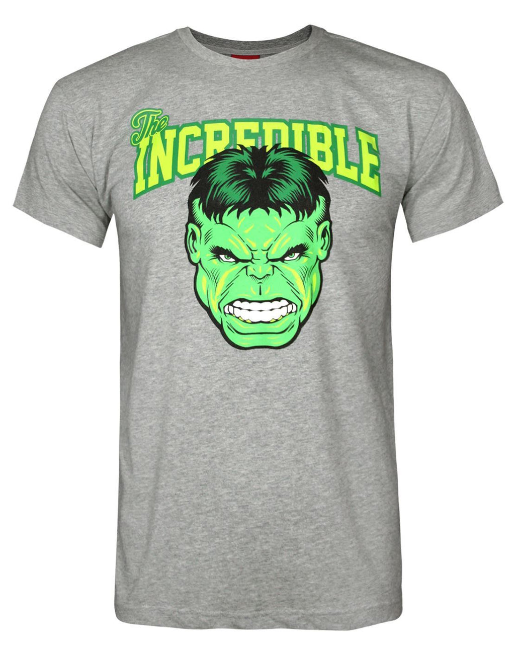 Marvel Hulk Incredible Logo Men's T-Shirt