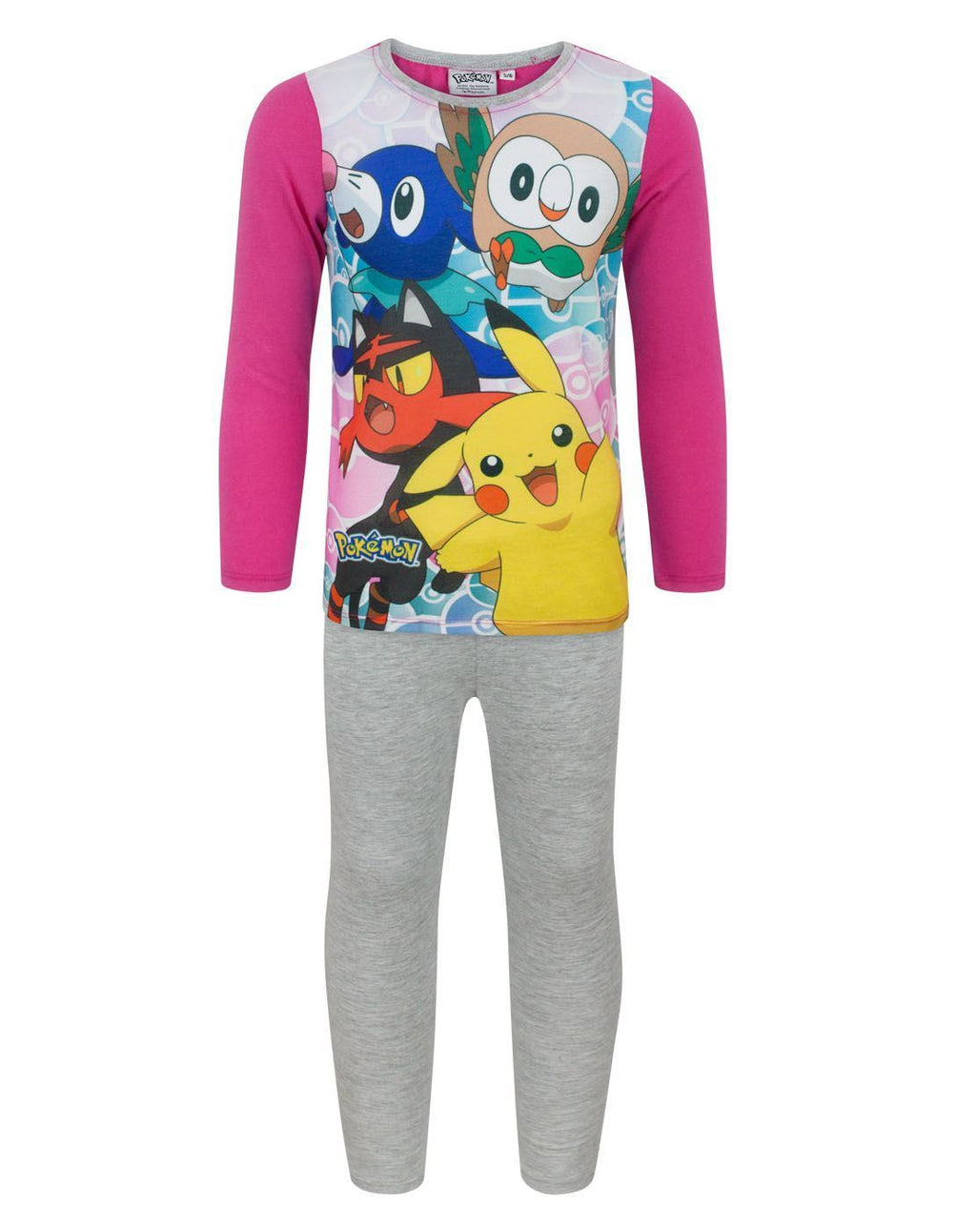 Pokemon Characters Girl's Pyjamas