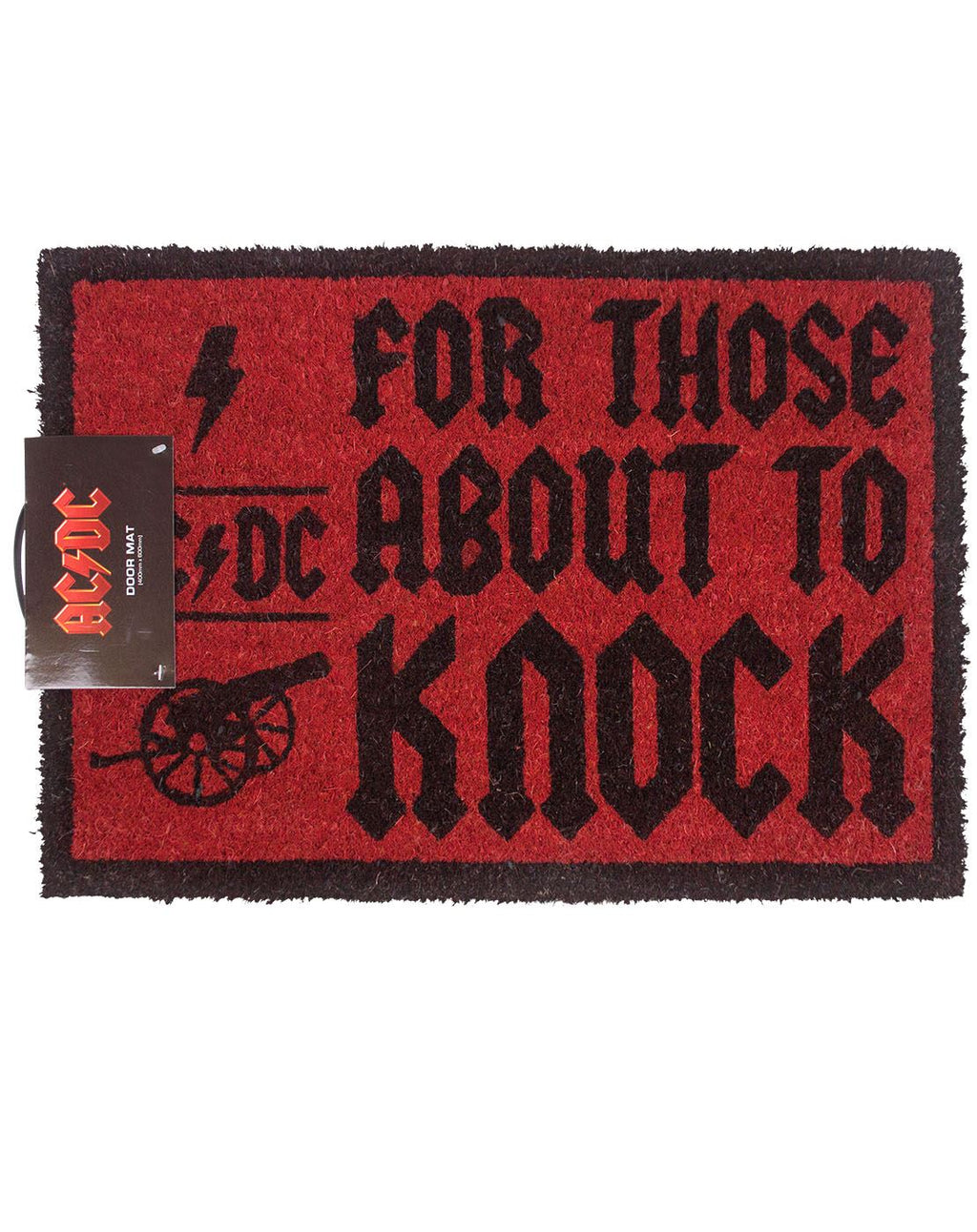 AC/DC For Those About To Knock Door Mat