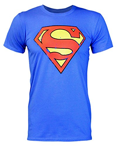 Superman Distressed Logo Men's T-Shirt