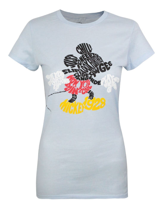 Jack Of All Trades Mickey Mouse Word Women's T-Shirt
