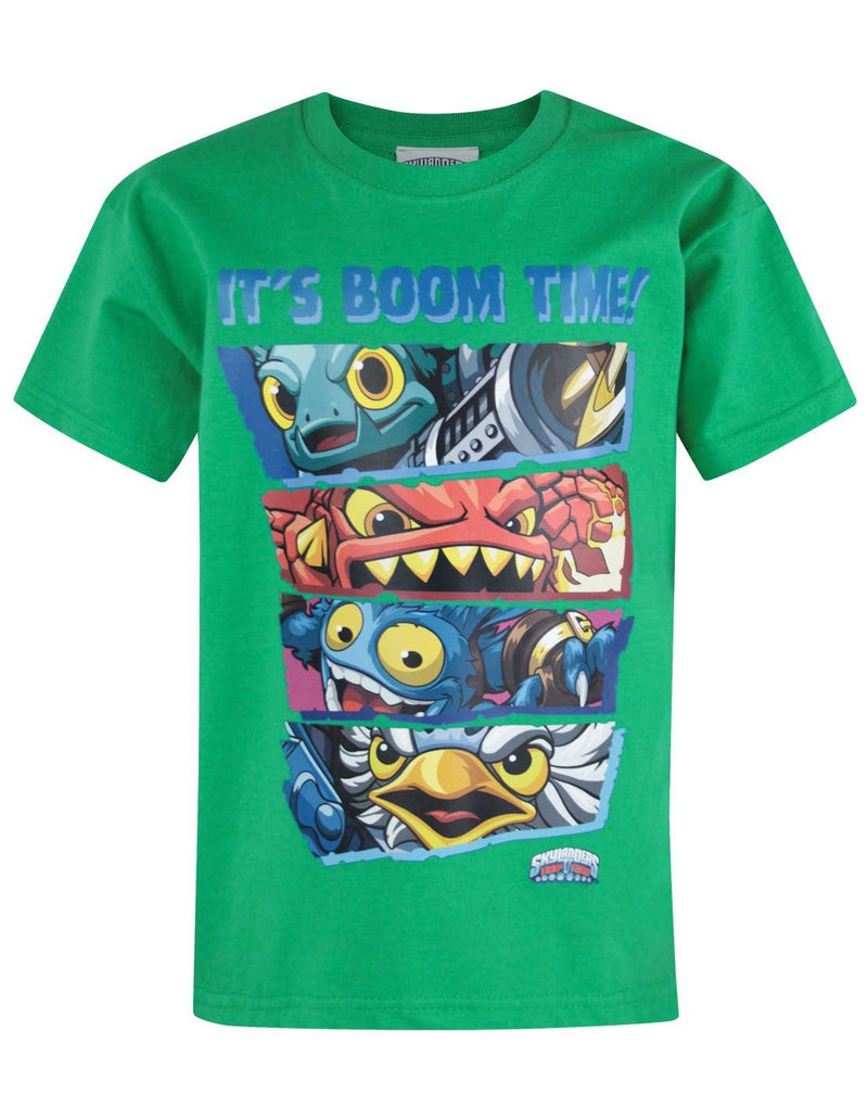 Skylanders Trap Team Boom Time Kid s T-Shirt 19be5b8563c8c
