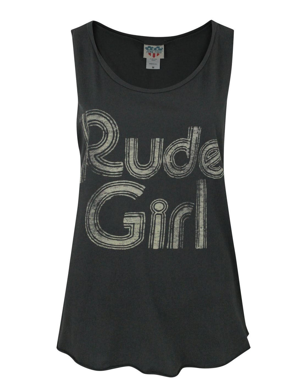 Junk Food Rude Girl Women's Vest