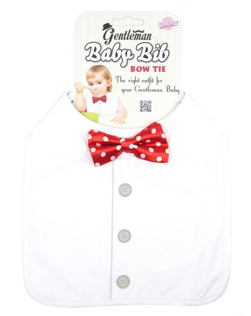 Gentlemans Bow Tie Baby Bib