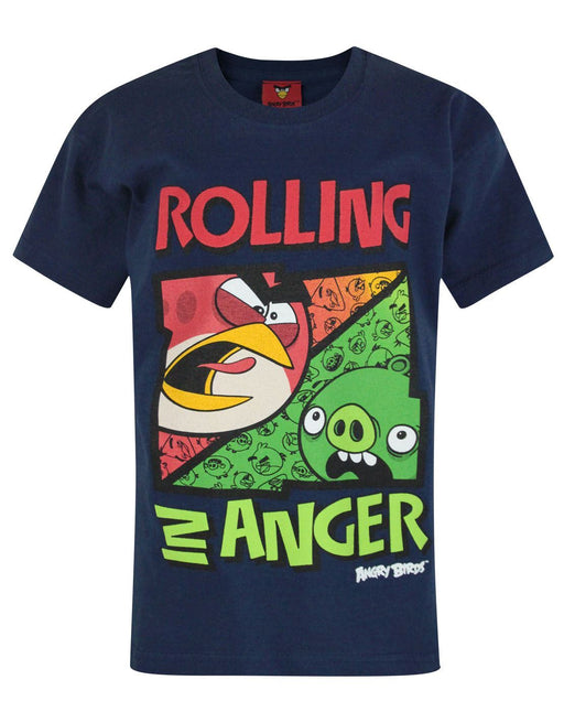 Angry Birds Rolling In Anger Boy's T-Shirt