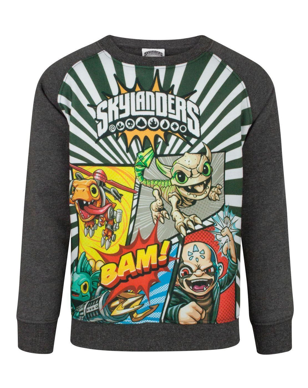 Skylanders Panels Boy's Sweatshirt