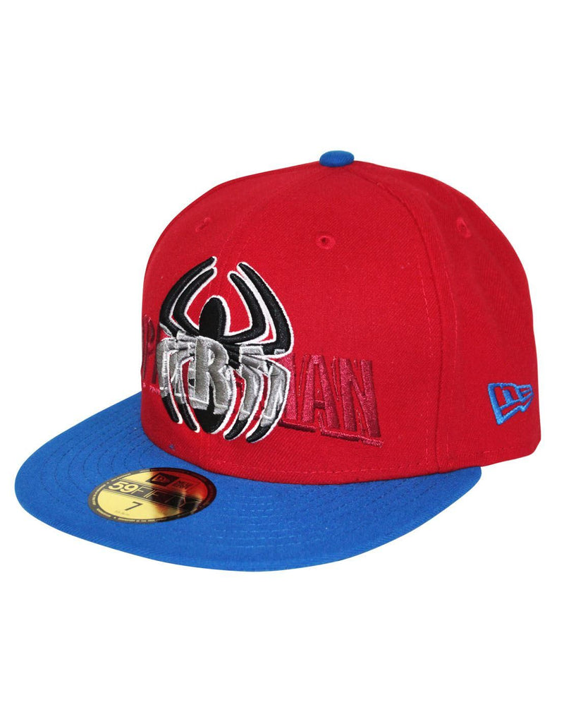 New Era 59Fifty Word Over Spider-Man Snapback Cap 271e618b5afc