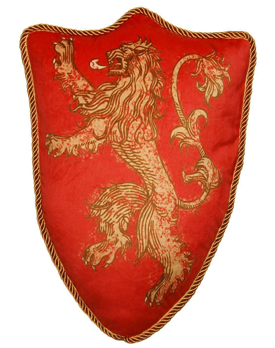 Game Of Thrones House Lannister Lion Sigil Throw Pillow