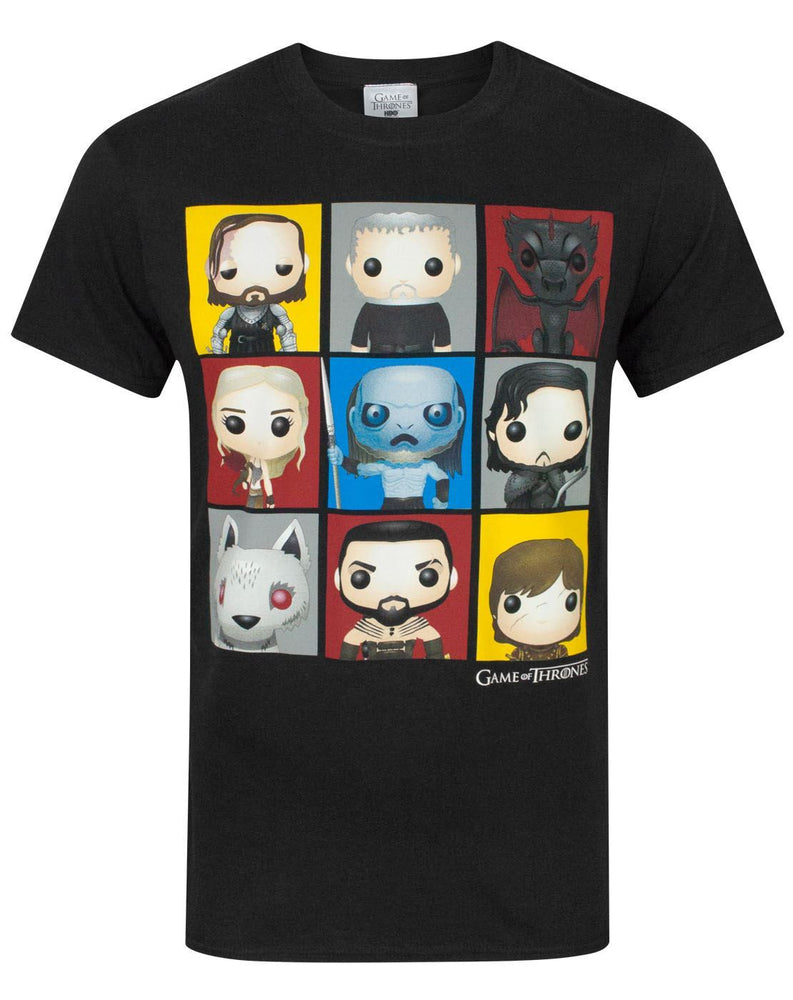 Game Of Thrones Funko Characters Men's T-Shirt