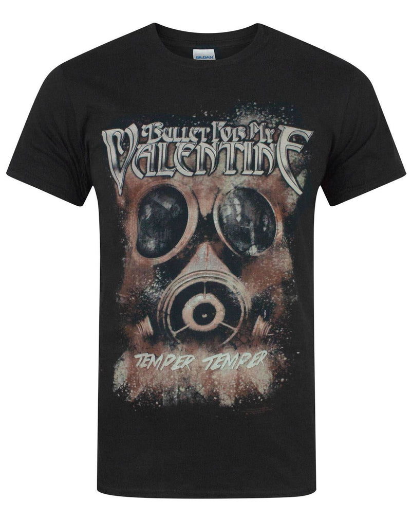 Bullet For My Valentine Temper Gasmask Men's T-Shirt
