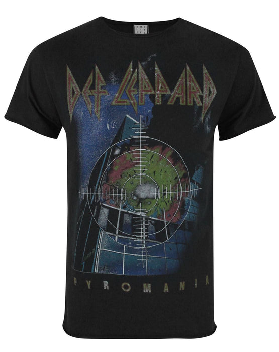 Amplified Def Leppard Pyromania Men's T-Shirt