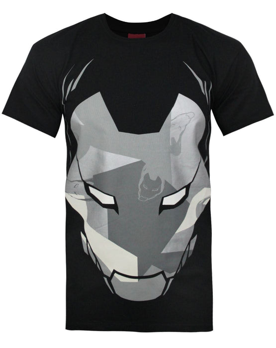 Addict X Marvel Iron Man Camo Mask Men's T-Shirt